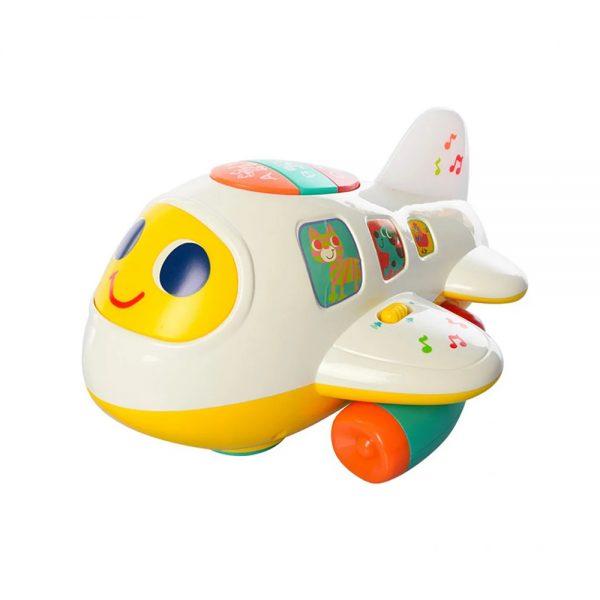 بازی آموزشی هولا طرح هواپیما مدل 6103