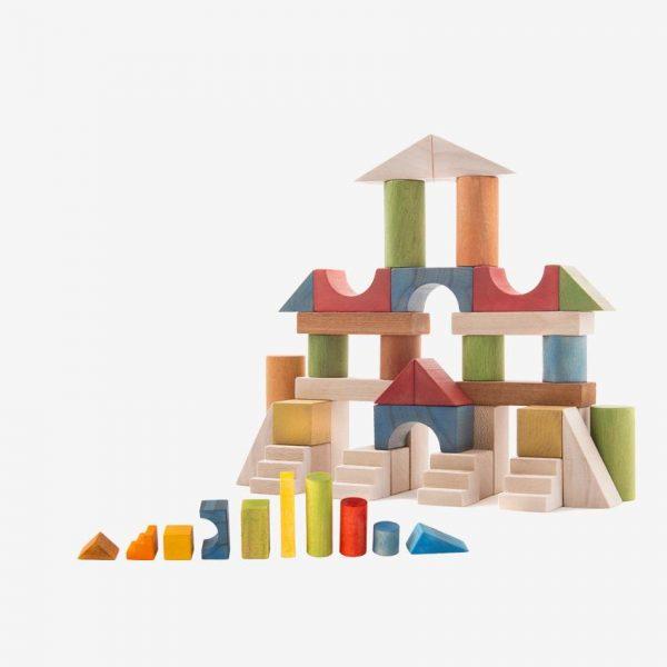 بریکس جعبه مقوایی همراه با بازی دوز
