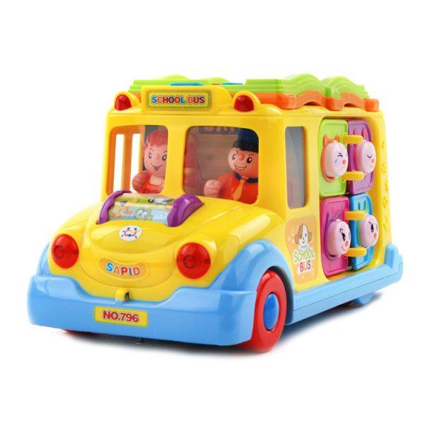 بازی آموزشی هولا مدل اتوبوس مدرسه