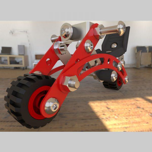 ساختنی های فلزی موتور سیکلت مدل ۴