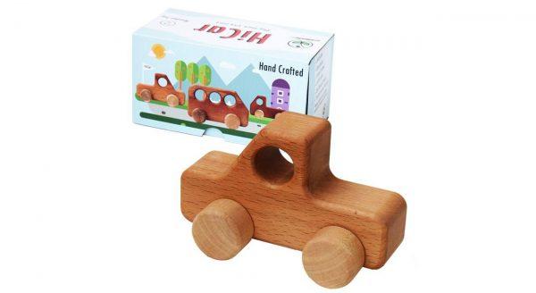 ماشین اسباب بازی چوبی مدل HiCar3