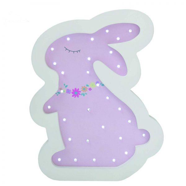 چراغ خواب ال ای دی کودک طرح خرگوش