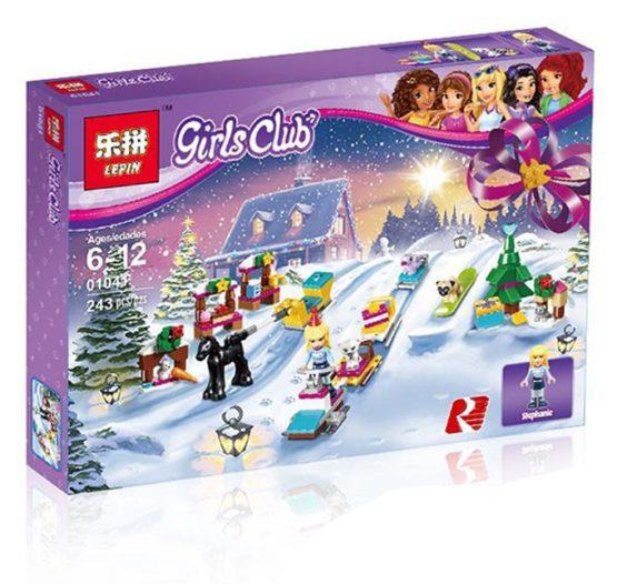 لگو دخترانه lepin مدل دختران girls club کد 01041