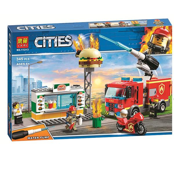 لگو ماشین آتش نشانی برند لاری کد 11213