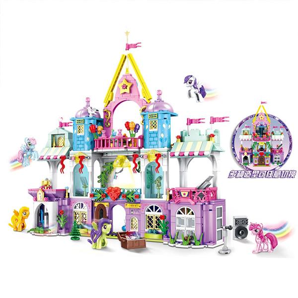 لگو دخترانه SY مدل قلعه کالج جادویی پونی کد SY11462