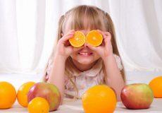 ویتامین سی برای رشد کودکان