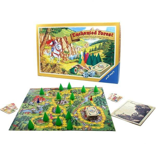 بازی فکری راز جنگل هاردباکس